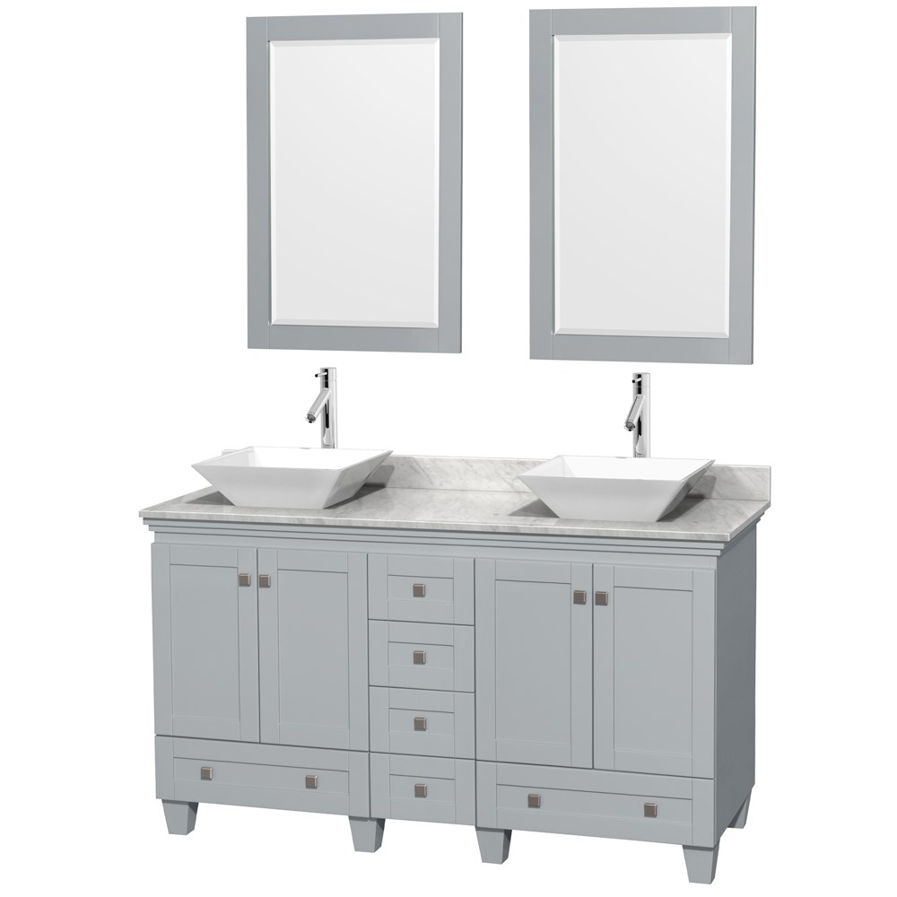 Double Bathroom Vanity For Vessel Sinks