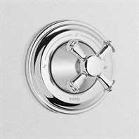 TOTO Vivian Three-Way Diverter Trim - Cross Handle TS220XW