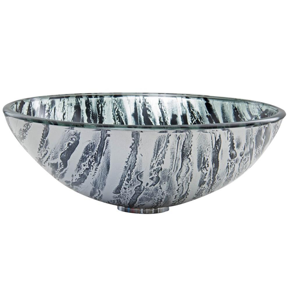 VIGO Rising Moon Glass Vessel Sinknohtin