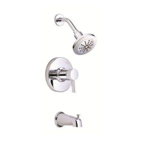 Danze Amalfi Trim Only Single Handle Pressure Balance Tub & Shower Faucet - Chromenohtin