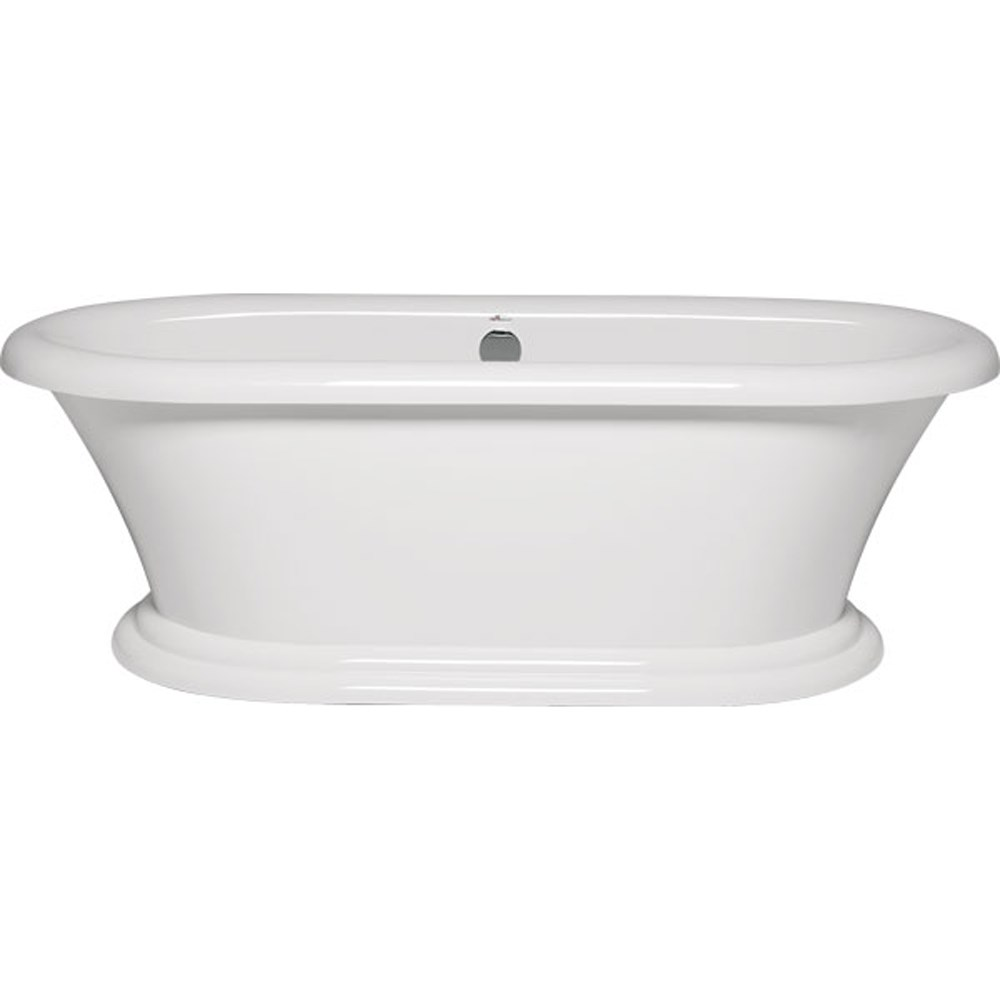 "Americh Rianna 7135 Tub with Pedestal Base (71"" x 35"" x 25"") RI7135"