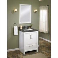 "Fairmont Designs Belleair Beach 24"" Vanity - High-gloss White 124-V24"