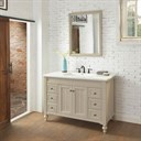 "Fairmont Designs Crosswinds 48"" Vanity For Integrated Top - Slate Gray 1524-V48-"