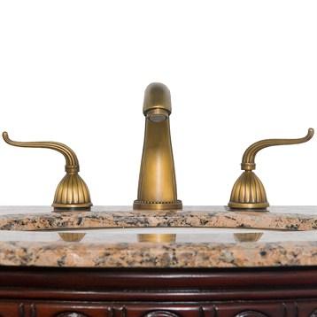 Heritage 1 Widespread Bathroom Faucet Antique Brass