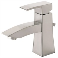 Danze Logan Square Single Handle Lavatory Faucet - Brushed Nickel D222536BN