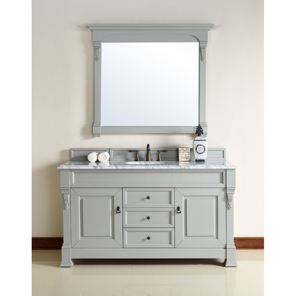 "James Martin 60"" Brookfield Single Cabinet Vanity - Urban Graynohtin Sale $1140.00 SKU: 147-114-5391 :"