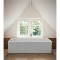 "MTI Andrea 2A Freestanding Sculpted Finish Tub (71.625"" x 31.75"" x 19.25"") MTDS-92A"