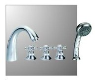 London 5 Bathroom Faucet - Chrome