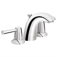 "Grohe Arden 4"" Mini Lavatory Wideset - Starlight Chrome GRO 20120001"
