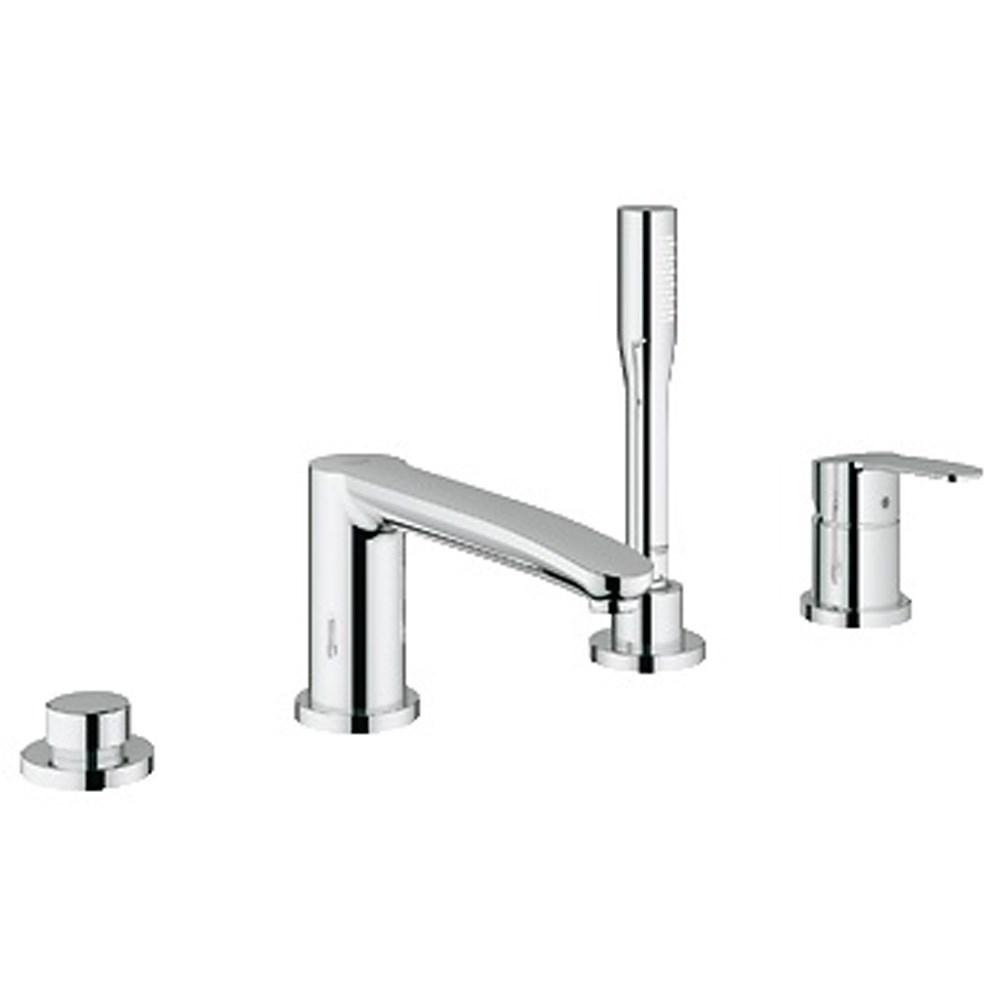 Grohe Eurostyle Cosmopolitan 4-Hole Single-lever Bath Combination - Starlight Chromenohtin Sale $950.99 SKU: GRO 23048002 :
