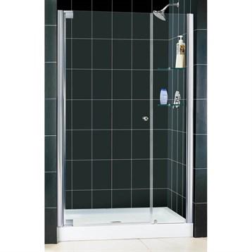 """Bath Authority DreamLine Elegance Frameless Pivot Shower Door and SlimLine Single Threshold Shower Base, 36"""" by... by Bath Authority DreamLine"""