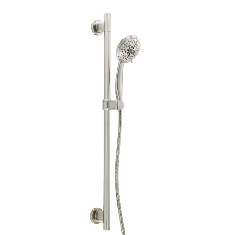 "Danze Versa 30"" Slide Bar Assembly w/ 5 Function Florin Handshower 2.0gpm - Brushed Nickelnohtin Sale $280.50 SKU: D461735BN :"