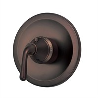 "Danze® Bannockburn™ Single Handle 3/4"" Thermostatic Shower Valve Trim Kit - Oil Rubbed Bronze"