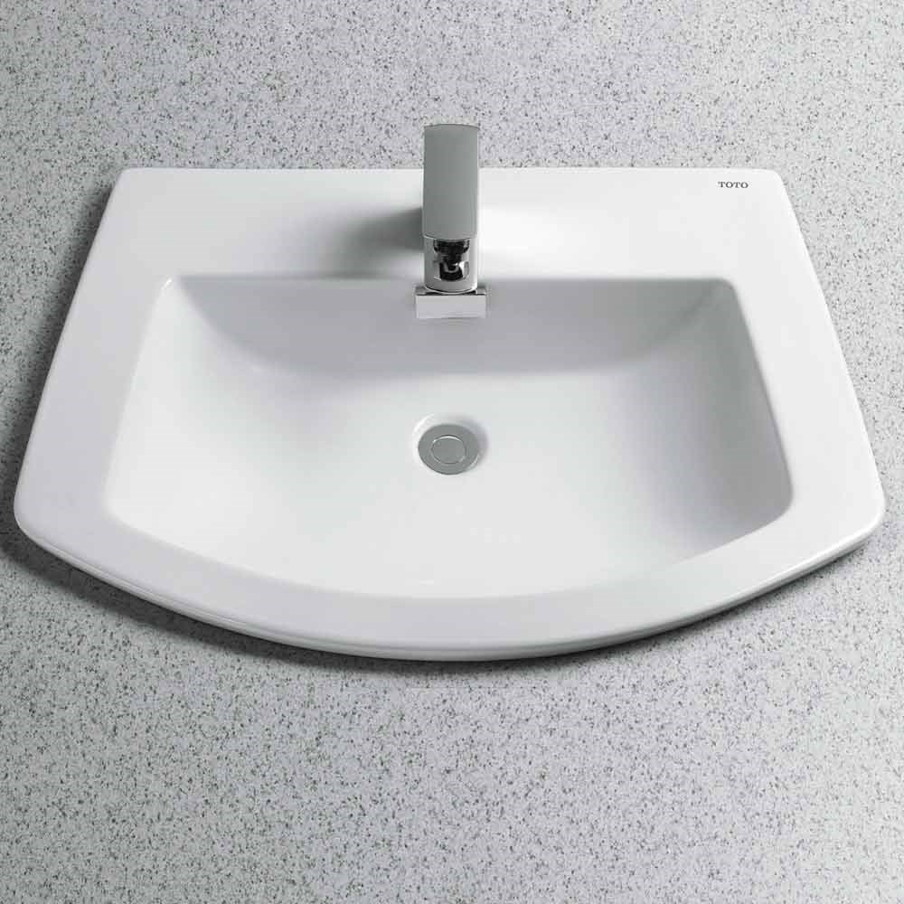Toto Soiree® Self-Rimming Lavatory | Free Shipping - Modern Bathroom
