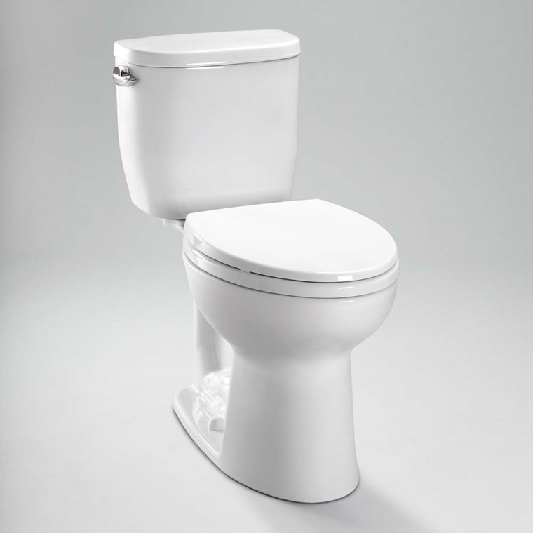 TOTO Entrada Close Coupled Elongated Toilet 1.28GPF CST244EF
