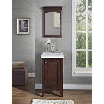 Fairmont Designs Shaker Americana 18 Vanity Habana Cherry Free Shipping Modern Bathroom