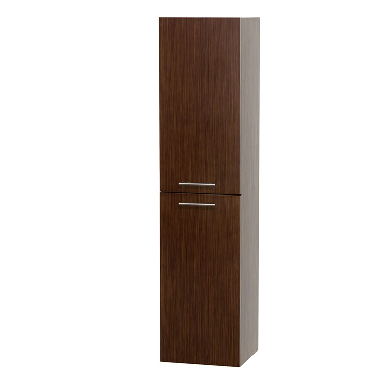 Bailey Wall Cabinet by Wyndham Collection - Zebrawood WC-V205-ZEBRA