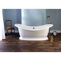 Marlborough Bathtub by Victoria and Albert MAR-N-SW-OF + MAR-B-SW (CS3925)