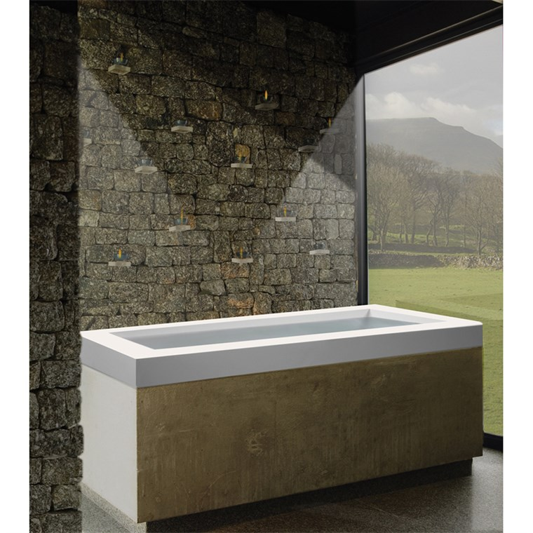 "MTI Maddux 1A Drop-In Tub (65.5"" x 31.25"" x 22"") MTCT-161A"