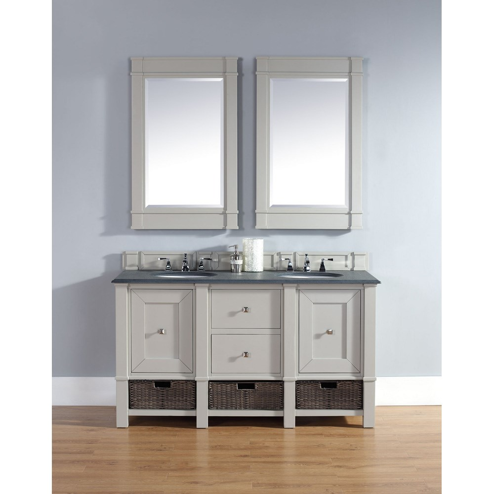"James Martin 60"" Madison Double Vanity - Dove Graynohtin Sale $1530.00 SKU: 800-V60D-DVG :"