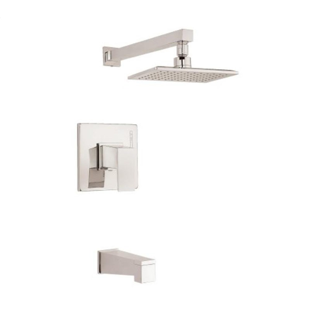 Danze Mid-Town 1H Tub & Shower Trim Kit w/ Diverter on Spout 1.75gpm - Polished Nickel D501062PNVT
