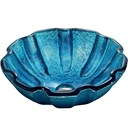 VIGO Mediterranean Seashell Glass Vessel Bathroom Sink VG07032