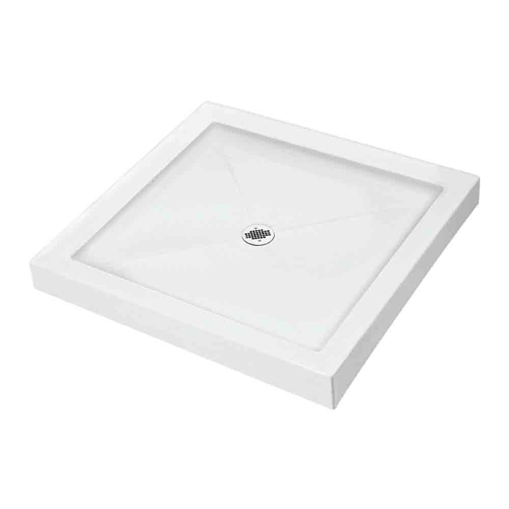 "MTI MTSB-3636MT Multi-Threshold Shower Base (36"" x 36"")nohtin"