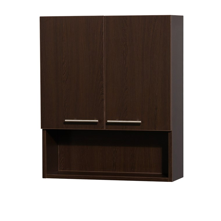 Amare Bathroom Wall Cabinet by Wyndham Collection - Espresso WC-RYV207-WC-ESP