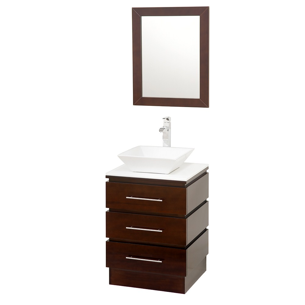 "Rioni 22"" Vanity Set by Wyndham Collection - Espresso WC-MS004-22-ESP-"