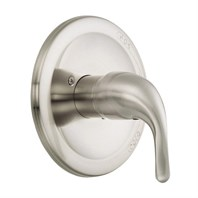 Danze Melrose Trim Only Single Handle Pressure Balance Valve - Brushed Nickel D510411BNT