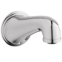 Grohe Geneva Tub Spout - Sterling Infinity Finish