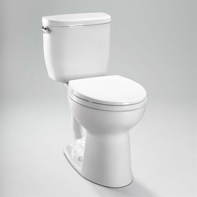 TOTO Entrada Close Coupled Round Toilet 1.28GPF CST243EF