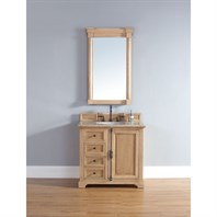 "James Martin 36"" Providence Single Cabinet Vanity - Natural Oak 238-105-5521"