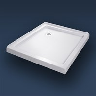 "Bath Authority DreamLine SlimLine Double Threshold Shower Base (36"" by 36"") DLT-1036360"