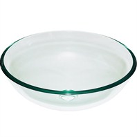 Clearwater Glass Vessel Sink