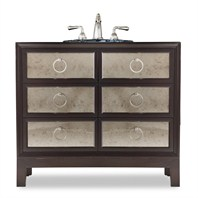 "Cole & Co. 36"" Designer Series Collection Reagan Vanity - Deep Merlot 11.22.275536.13"