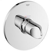 Grohe Veris Thermostat Trim - Starlight Chrome GRO 19366000