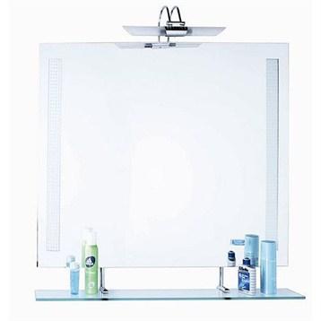 SLT151 Bathroom Mirror With Glass Shelf 35 X 28