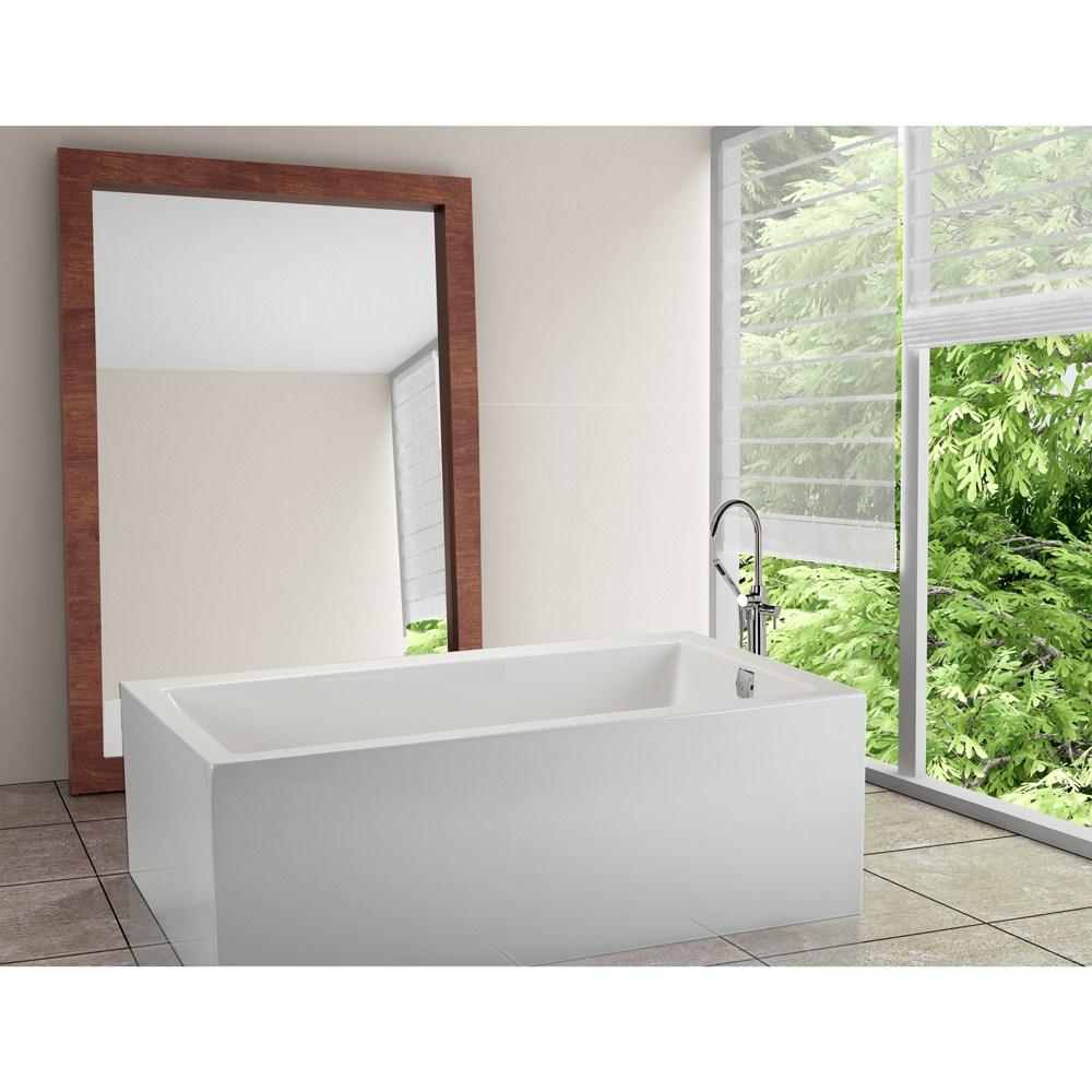 """MTI Andrea 12A Freestanding Sculpted Tub (59.75"""" x 42"""" x 23.75"""")nohtin Sale $4743.75 SKU: MTDS-102A :"""