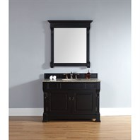 "James Martin 48"" Brookfield Single Vanity - Antique Black 147-114-5231"