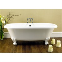 Freestanding bathtubs freestanding white tubs modern for Victoria albert clawfoot tub