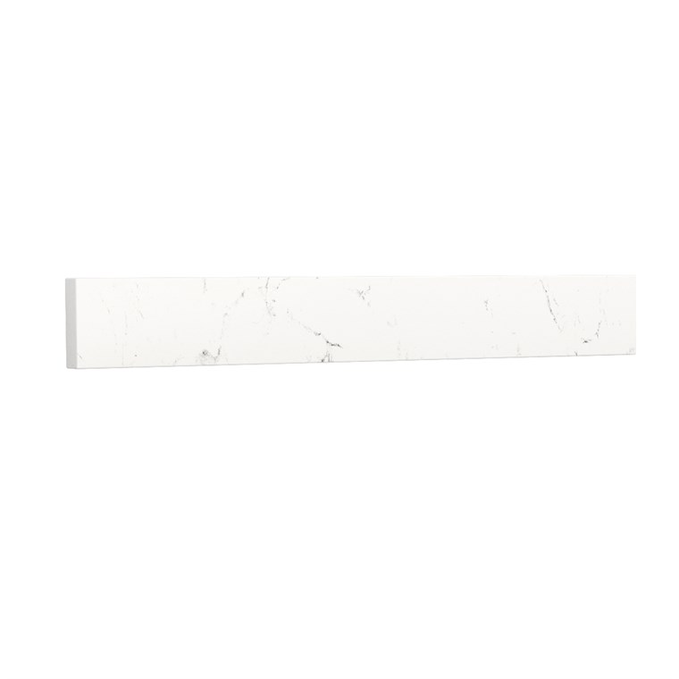 "Replacement 24"" Backsplash - Light-Vein Carrara Cultured Marble REPL-WC-VCA-24-BS-CC2"