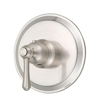 "Danze Opulence Single Handle 3/4"" Thermostatic Shower Valve Trim Kit, Brushed Nickel by Danze"