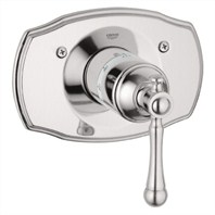 Grohe Bridgeford Thermostat Trim - Infinity Brushed Nickel