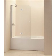 "Bath Authority DreamLine EZ-fold Frameless Hinged Tub Door (36"") Chrome Finish Hardware SHDR-3636580-01"