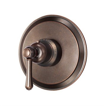 Danze Opulence Single Handle 3/4'' Thermostatic Shower Valve Trim Kit, Tumbled Bronze D562057BRT by Danze