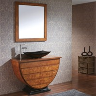 "Avanity Legacy 40"" Single Bathroom Vanity - Golden Burl AVA9999-V40-BU"