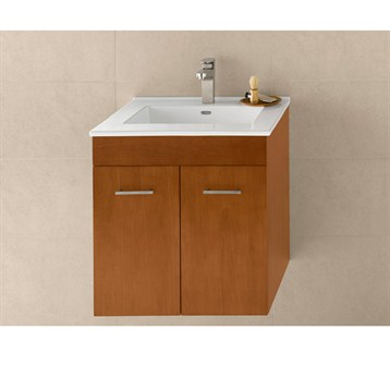 """Ronbow Bella 23"""" Vanity Integrated, Cinnamon Ronbow 011223-F08-INTEGRATED by Ronbow"""
