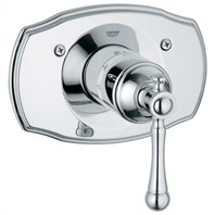Grohe Bridgeford Thermostat Trim - Starlight Chrome