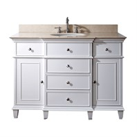 "Avanity Windsor 48"" Bathroom Vanity - White WINDSOR-48-WT"